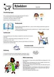Nyhedsbrev Januar 2013 - Halgaard Skole