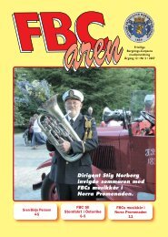 FBCaren 2 2007 (Page 1) - Ystads Frivillige Bergnings-Corps
