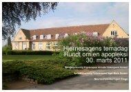 Oplæg ved Ergoterapeut Annette Vestergaard ... - Hjernesagen