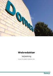 Webredaktør - Domea
