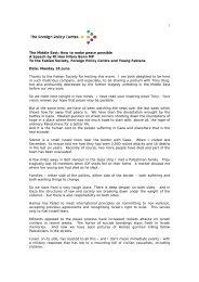 Download Hilary Benn Speech - Foreign Policy Centre