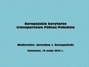 Europejskie korytarze transportowe Północ-Południe