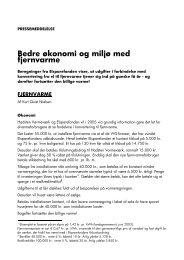 Bedre økonomi og miljø med fjernvarme - Hadsten Varmeværk