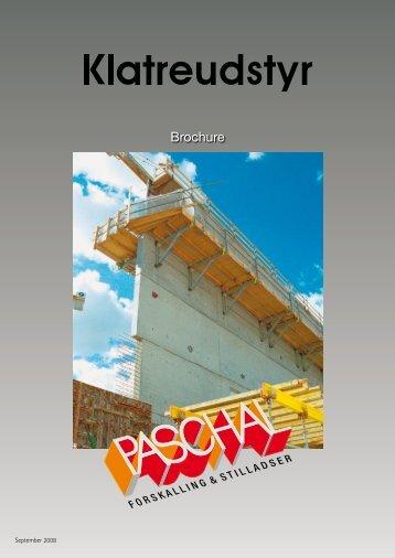 Klatreudstyr brochure og montageanvisning - PASCHAL-Danmark A/S