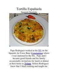 Tortilla Española - The Geriatric Gourmet