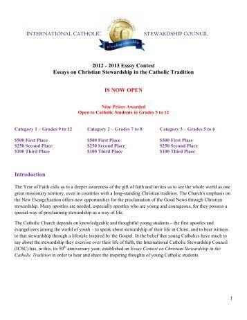 2013 essay contests