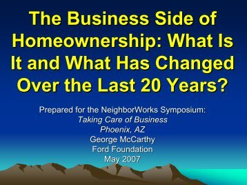 Manufactured Housing and Asset-Building