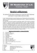 Stadionheft Nr.01 - SV Neukirchen - SV Neukirchen 21 e.V. - Page 4