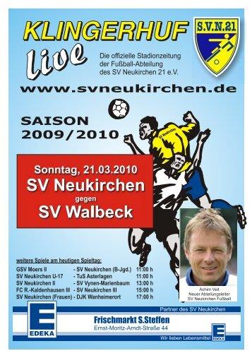 Heft-7 2009-2010-A5-neu - SV Neukirchen