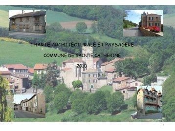 Introduction Charte - Mairie de Sainte-Catherine