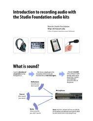 Intro-AudioKits-v3-2.. - MassArt Studio Foundation