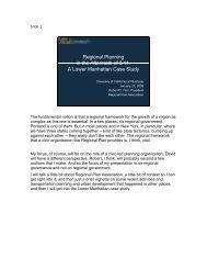Slide Presentation - Center for Sustainable Suburban Development