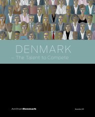 The Talent to Compete - American Chamber of Commerce in Denmark