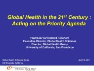 Global health challe..