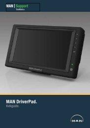2. MAN DriverPad ® Navigation - MAN Truck & Bus Norge