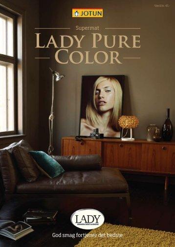 LAdy PURE COlOR - Jotun