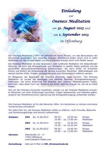 OM Offenburg 2013-08-31 (V01) - Oneness 24