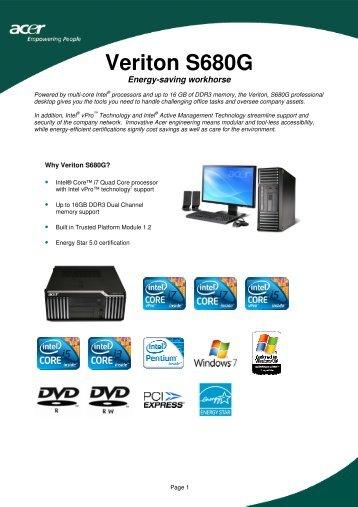 Acer Veriton X488G NVIDIA Display Driver Download