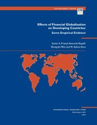 Effects of Financial Globalization on Developing ... - the JVI eCampus!