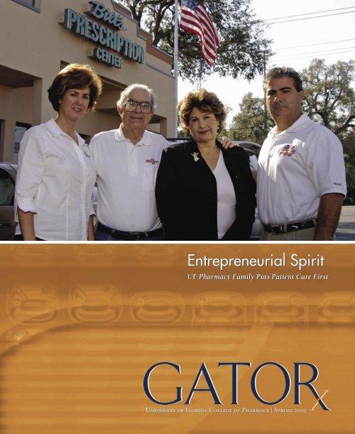 GATORx W05.indd - College of Pharmacy - University of Florida