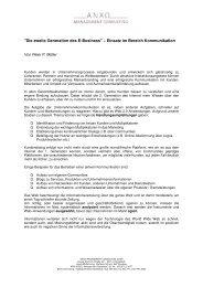 Artikel NL 3_2007 PM Kommunikation Web 2.0 - ANXO ...