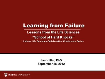 Janet Hillier, Clinical Assistant Professor, IU Kelley School of Business
