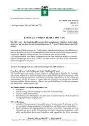 Landtagswahlen Januar 2008 Hessen - CDU - des Deutschen Hanf ...