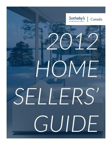 Sotheby's International Realty Canada - Sellers Guide - Ubertor