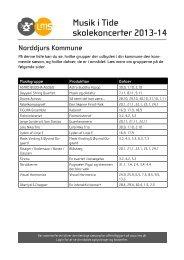 Norddjurs Kommune - Levende Musik i Skolen