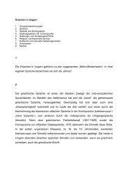 """1 Die Griechen in Ungarn gehören zu den sogenannten """"Mikro ..."""