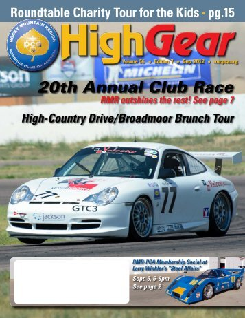September 2012 - Rocky Mountain Region Porsche Club - Porsche ...