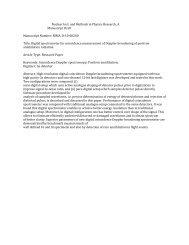 Digital spectrometer - Positron Annihilation in Halle