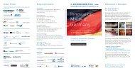 Einladungs-Flyer zum 2. Aussenhandelstag NRW
