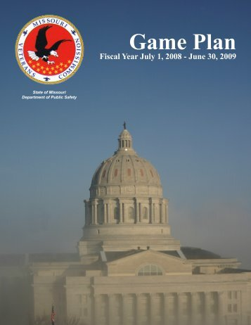 2009 Game Plan - Missouri Veterans Commission