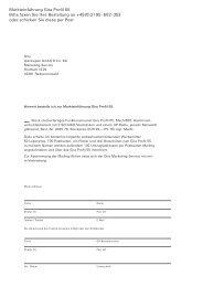 Markteinführung Gira Profil 55 Bitte faxen Sie Ihre Bestellung an +49 ...