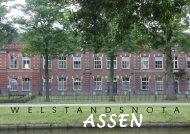 Welstandsnota beleidsbepaling - Gemeente Assen