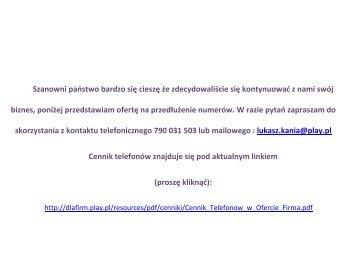 Szanowni państwo bardzo się cieszę że ... - img1.oferia.pl