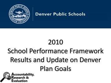 Employee Performance Management Update - Denver Public Schools