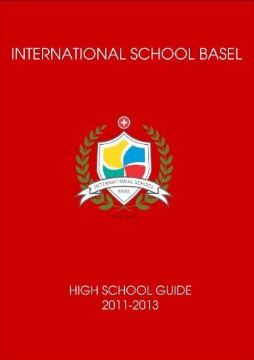 The High School at ISB - International School Basel