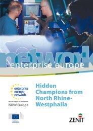 Hidden Champions from North Rhine- Westphalia - NRW.Europa