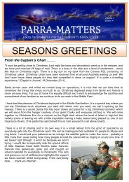 PARRA-MATTERS - Royal Australian Navy