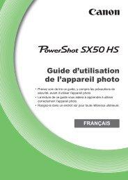 Guide d'utilisation de l'appareil photo