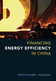 ENERGY EFFICIENCY - Carnegie Endowment for International Peace