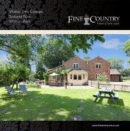 Walnut Tree Cottage, Spooner Row, Wymondham - Fine & Country