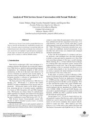 Analysis of Web Services Secure Conversation with ... - ResearchGate