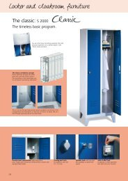 Locker and cloakroom furniture - Gfitness