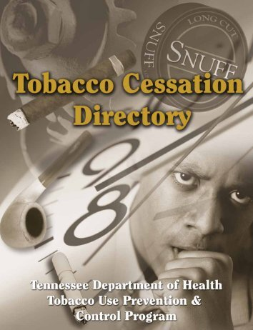 Table Of Contents - the Tennessee Department of Health