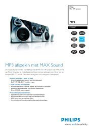 FWM37/22 Philips Mini HiFi-systeem