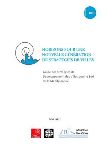 pour l'élaboration des Stratégies de Développement des Villes - CMI