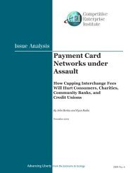 Payment Card Networks Under Assault.pdf - Competitive Enterprise ...